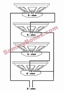 4 Speaker 8 Ohm Wiring Diagram