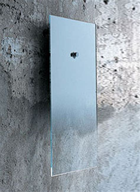 Glas Italia Fiction Modern Wall Mounted Mirror   Stardust