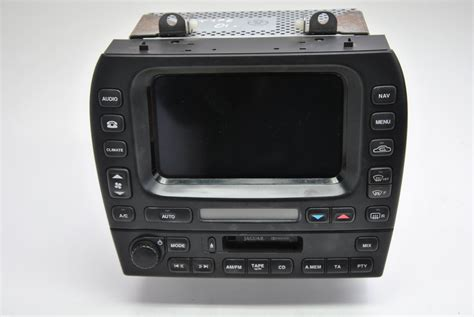 Jaguar X-type 2001 Music Player With Navigation System