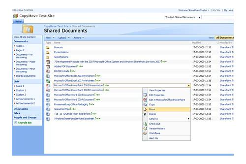 sharepoint 2007 download file from document library