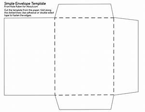 Try this simple envelope template for Print on envelope template