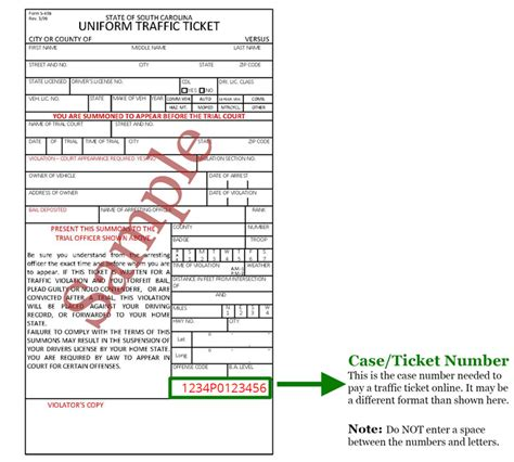 dnr form az pay traffic tickets and court fines