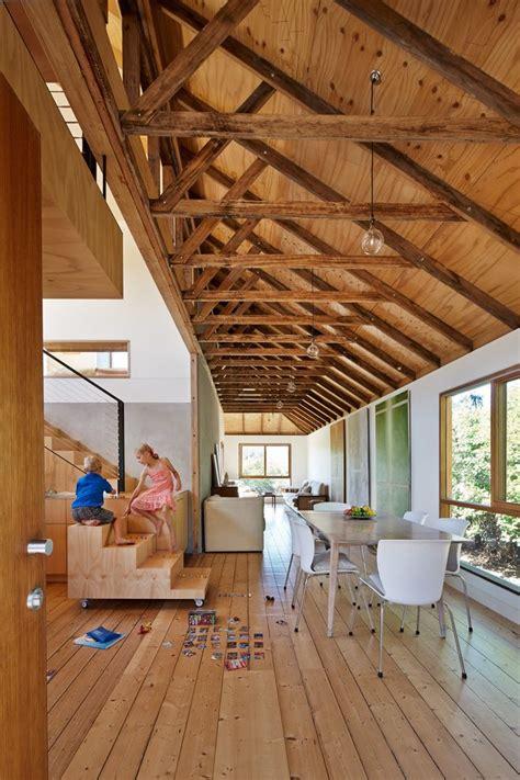 elegant homes dining room farmhouse  open floor plan