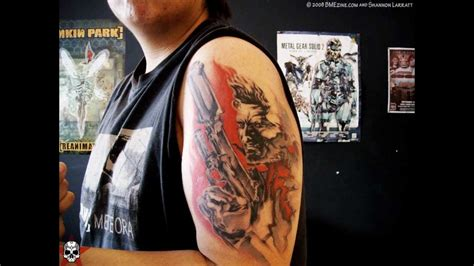 awesome videogame tattoos youtube
