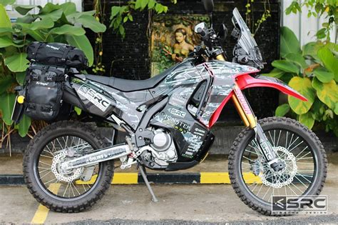 Honda Crf250rally Modification by Webike Motorcycle Parts Accessories Gears Oem Parts