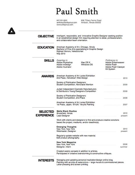De Cv Professionnel 2016 by Cv Model Exemple De Cv Professionnel 2016 Artere