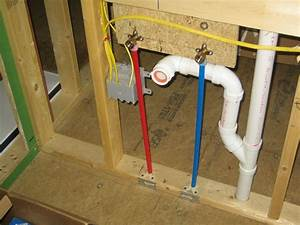 plumbing up hill house With how to rough plumb a bathroom sink