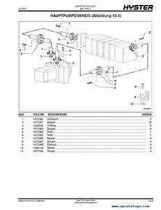 Hyster Yardmaster Hr45 31  40ls  40s36l  45h Parts Manual Gr