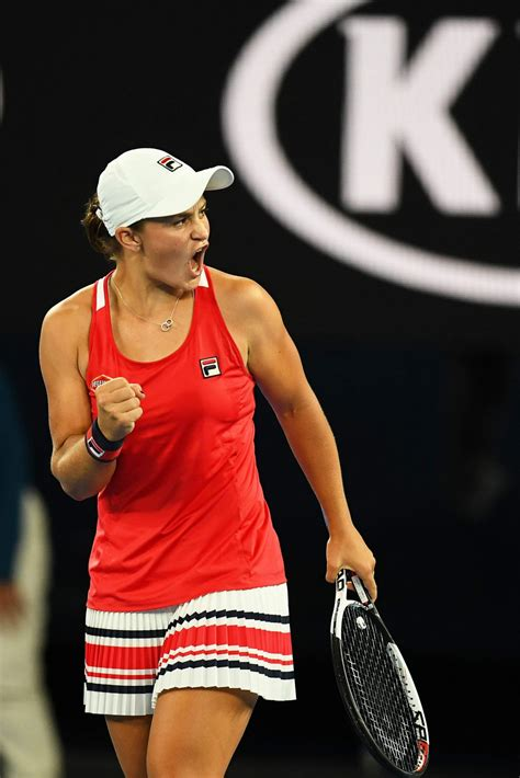 Her height is 1.66 m and weight is 62 kg. ASHLEIGH BARTY at Australian Open Tennis Tournament in ...