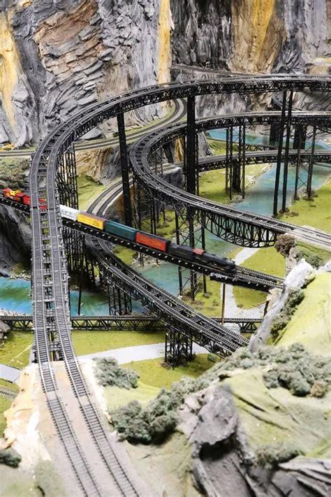 worlds largest model railroad track model trains
