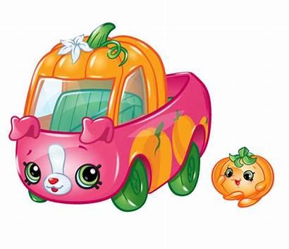 Cutie Cars Shopkins Pumpkin Pickup Season Qt2