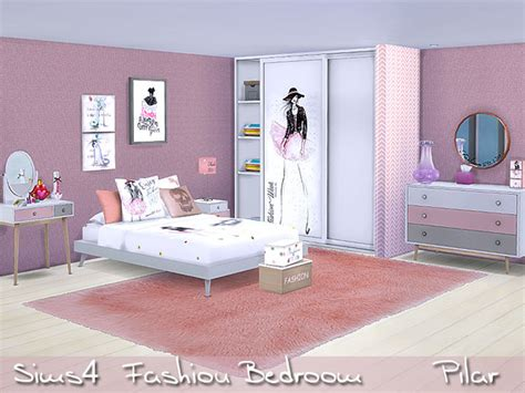 Bedroom Fashion by Fashion Bedroom By Pilar At Tsr 187 Sims 4 Updates