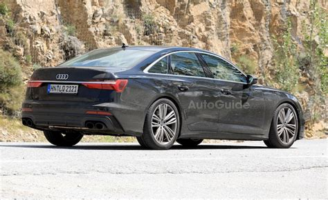 Audi 2019 S6 : 2019 Audi S6 Spied With Actual, Real Exhaust Tips
