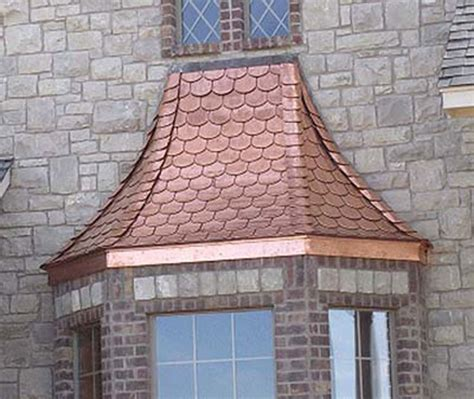 copper awning copper roof front porch design copper metal roof