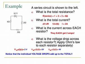 calculate voltage drop across resistor - 28 images ...