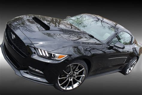 staggered  black mamba mustang wheels tires package