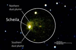 NASA - NASA's Swift and Hubble Probe Asteroid Collision Debris