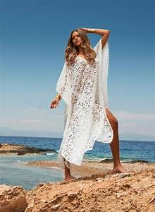 Hot Sale Lace Dress Beach Kimono Long Cover Up Beach Wear ...