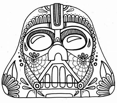 Coloring Pages Crazy Muertos Dia Los Designs