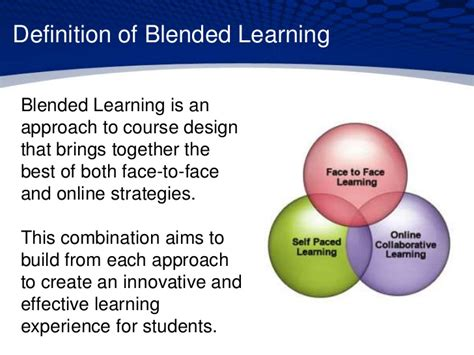 What Is The Best Definition Of A Combination Resume by Blended Learning