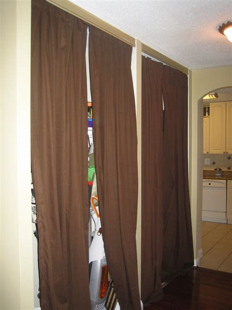 how to make sliding closet doors on the cheap