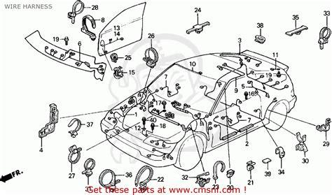 1991 acura integra distributor wire diagram