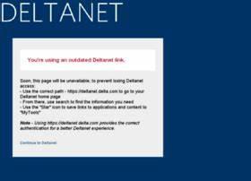 dlnet.delta.com info. DeltaNet Extranet