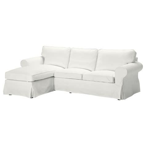 chaise évolutive ikea ektorp 3 seat sofa with chaise longue blekinge white ikea
