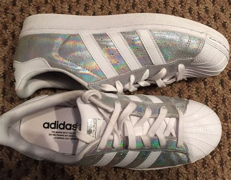 Adidas Originals Superstar Glitter Metallic Iridescent