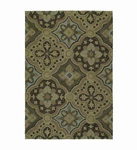 habitat medallion indoor outdoor rug 8 39 x 10 39 brown