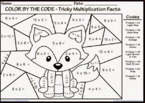 Halloween Multiplication Worksheets Third Grade by Math Coloring Pages 6th Grade Www Mindsandvines Com