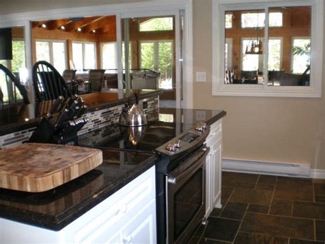 kitchen island with stove top cottage 138 for rent on mainhood lake near utterson in