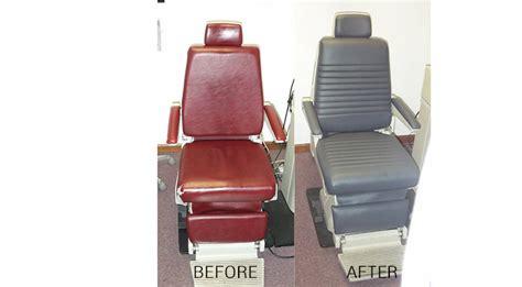 Dental Chair Upholstery by Upholstery Repair Services Dr Vinyl Associates Ltd
