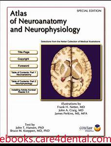 Netter Atlas of Neuroanatomy and Neurophysiology (pdf)