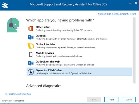 Crm Diagnostic Now Available In Office 365 Support And