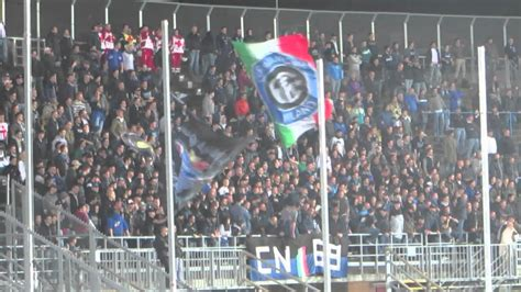 Atalanta - Inter 1-1 29/10/13 Tifo Ultras Inter in ...