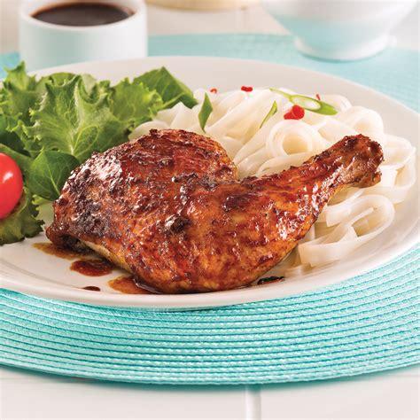 cuisiner cuisse de poulet cuisses de poulet laquées soupers de semaine recettes