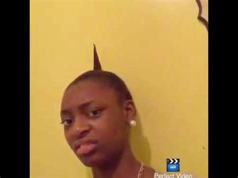 Little Black Girl Meme - ponytail tutorial youtube