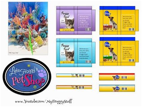 my froggy stuff how to a doll littlest pet shop plus free printables ag doll pet stuff