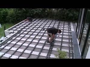Terrasse Verlegen Preis : verlegen einer megawood terrasse youtube ~ Markanthonyermac.com Haus und Dekorationen