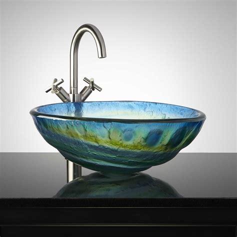 photos of vessel sinks cosmo glass vessel sink bathroom