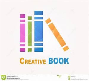 Vector Logo Design Element. Book, Read, Library Stock ...