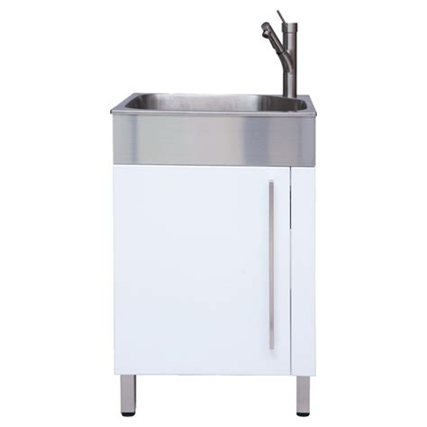 Stainless Steel Laundry Sink by Westinghouse Stainless Steel Laundry Sink With Cabinet