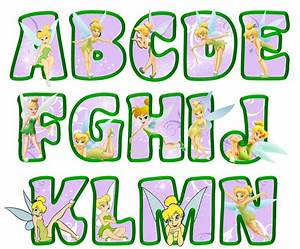 printable tinkerbell letters a n lavender tinkerbell With tinkerbell letters