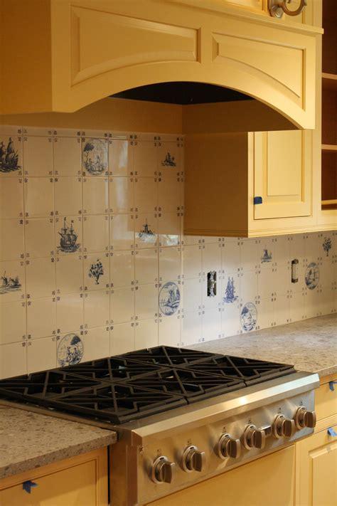 delft kitchen tiles delft tile back splash waterford ct gagne custom 3147