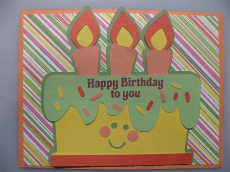 Easy To Make Homemade Birthday Card With A Cricut Hubpages