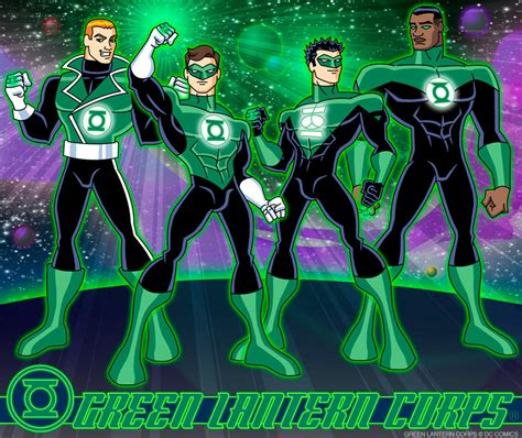 the brightest day the blackest saturday showcase cool green lantern corps