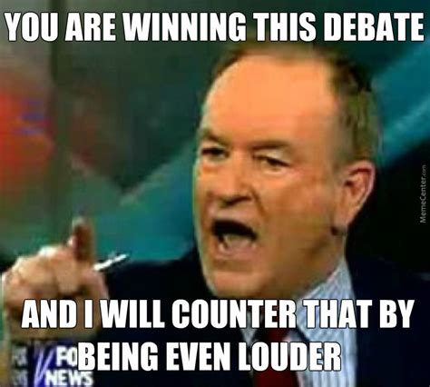 Bill O Reilly Meme - talk radio frustratedboomers