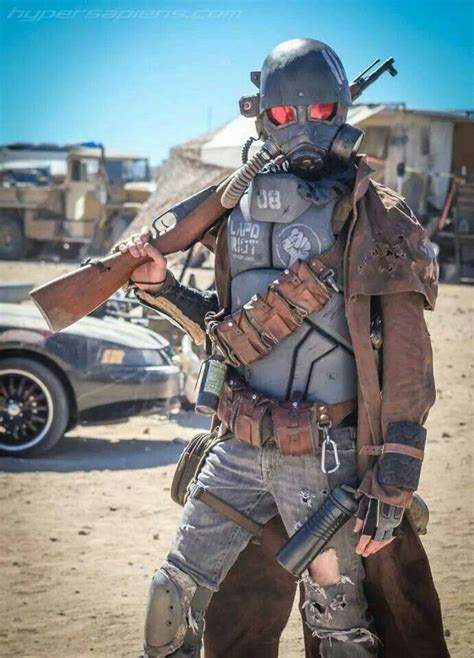 Fallout Cosplay Wasteland Post Apo Pinterest