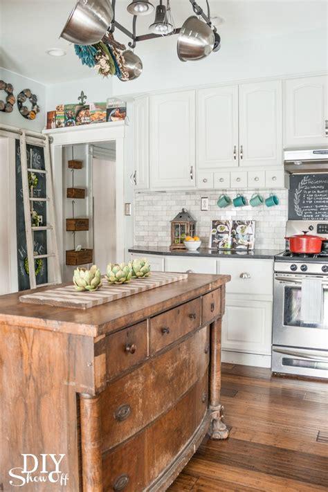 diy island kitchen freestanding kitchen islands tidbits twine